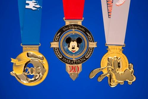 rundisney 2013 WDW Marathon Medals  MARATHON-HALF-AND-GOOFY-MEDALS-PIC